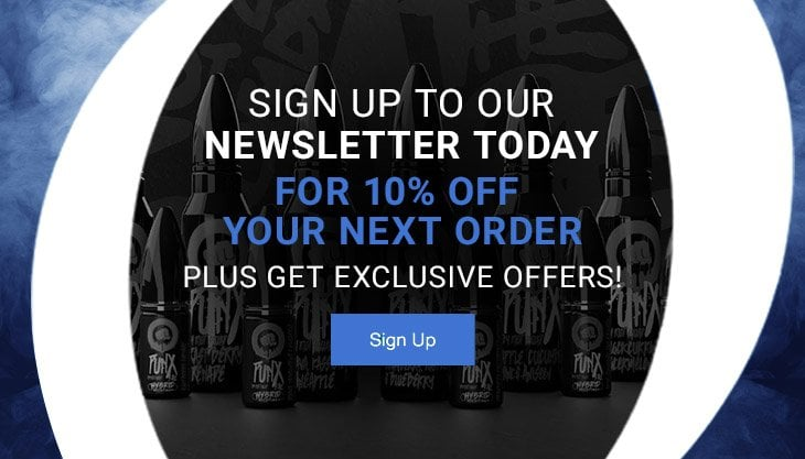 Sign up to our Newsletter for 10% off your next order